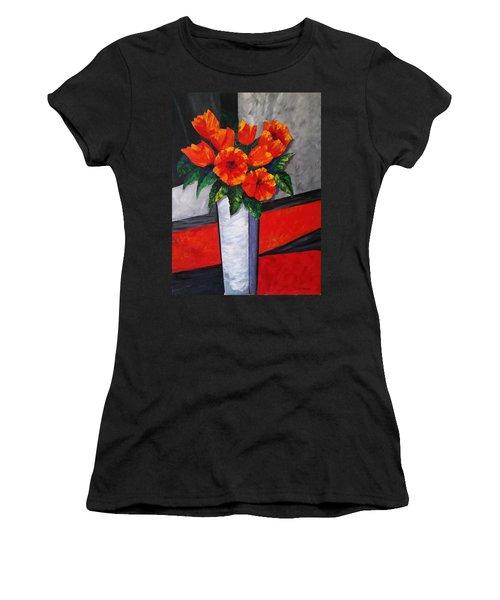 Flower Power Women's T-Shirt (Athletic Fit)