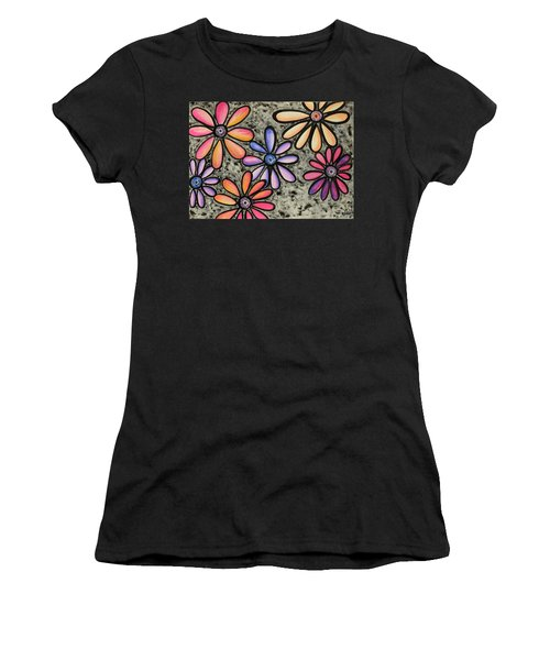 Flower Series 4 Women's T-Shirt (Athletic Fit)
