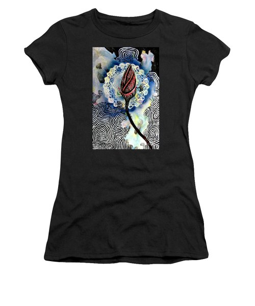 Flower Study 1 Women's T-Shirt (Athletic Fit)