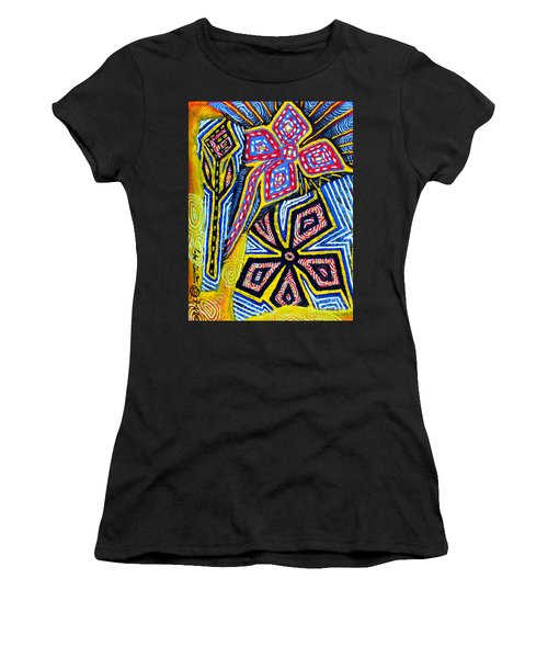 Flower Study Women's T-Shirt (Athletic Fit)