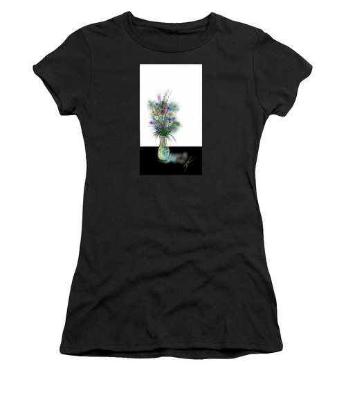 Flower Study One Women's T-Shirt (Junior Cut)