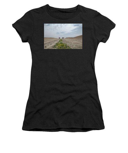 Flowering In The Desert Women's T-Shirt (Athletic Fit)