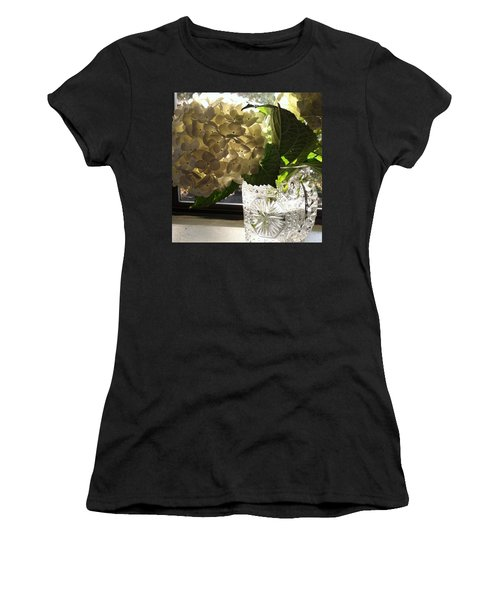 Flowers Always Inspire! Women's T-Shirt (Athletic Fit)