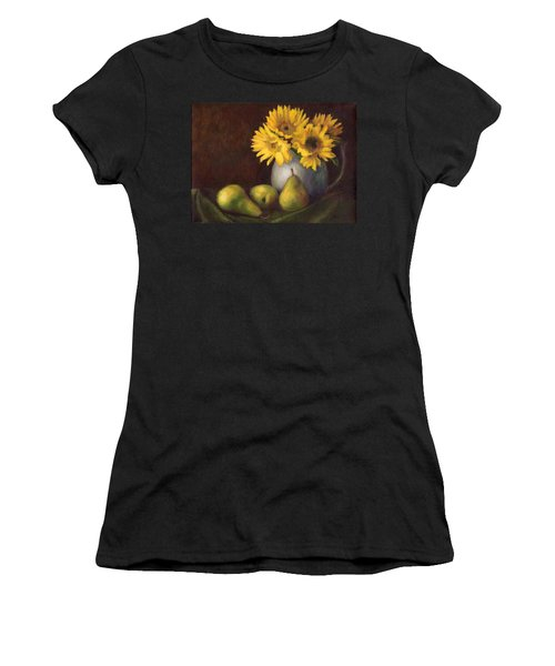 Flowers And Fruit Women's T-Shirt (Athletic Fit)