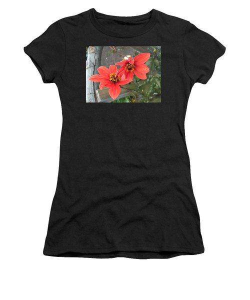 Flowers In Love Women's T-Shirt