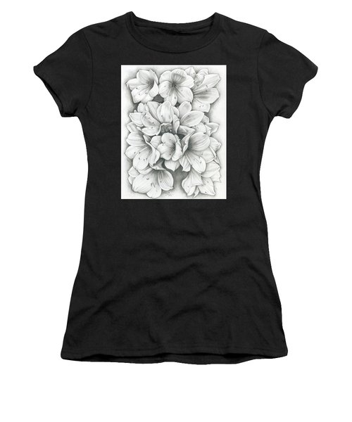 Clivia Flowers Pencil Women's T-Shirt
