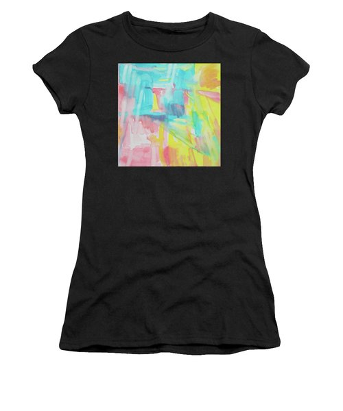 Flowers, Sky And Sun Women's T-Shirt