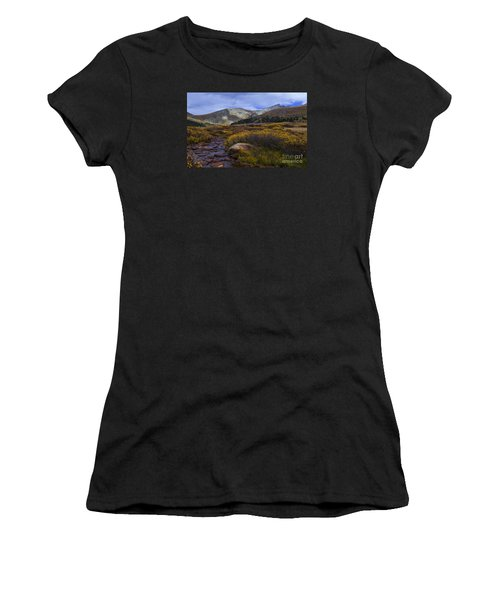 Flowing From Bierstadt Women's T-Shirt (Athletic Fit)