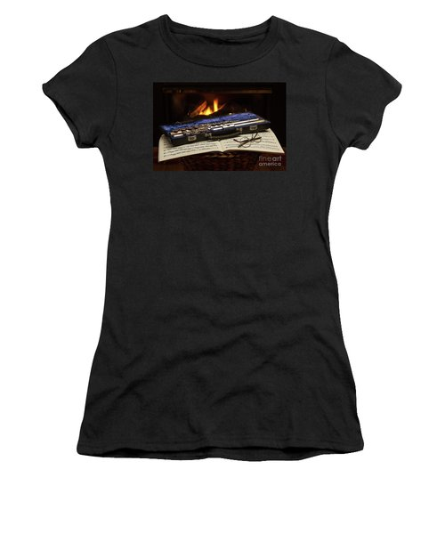 Flute Still Life Women's T-Shirt (Athletic Fit)