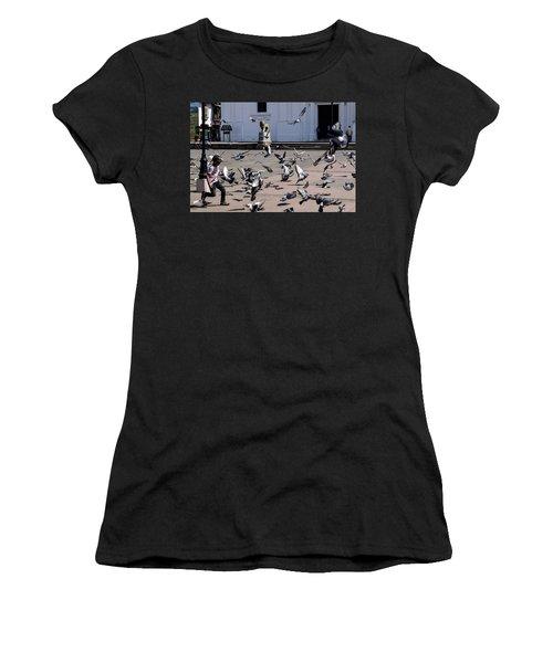 Fly Birdies Fly Women's T-Shirt