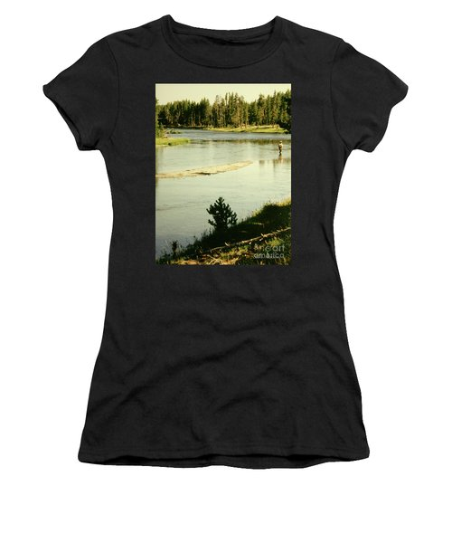 Fly Fishing Women's T-Shirt (Athletic Fit)