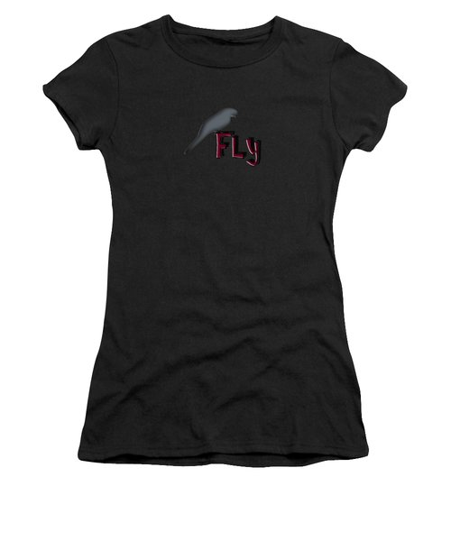 Fly Women's T-Shirt (Athletic Fit)