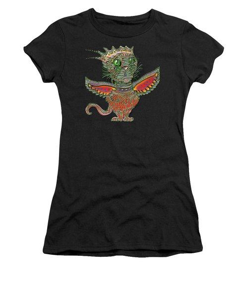 Flyin Lion Women's T-Shirt (Athletic Fit)