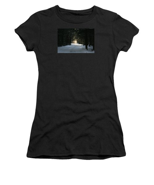 Women's T-Shirt (Junior Cut) featuring the photograph Flying Angel No.2 by Neal Eslinger