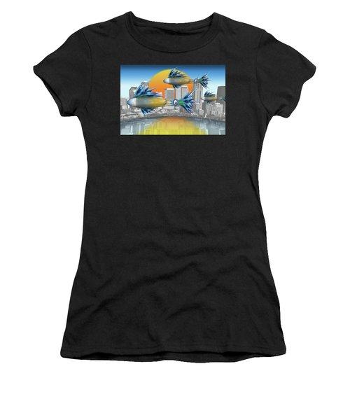 Flying Fisque  Women's T-Shirt