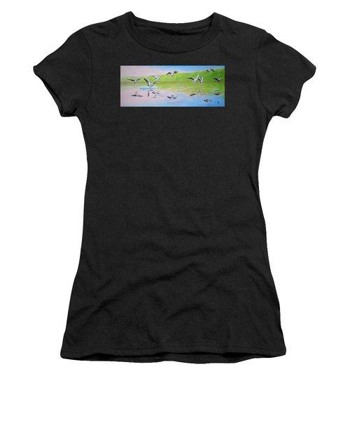 Flying Geese Women's T-Shirt