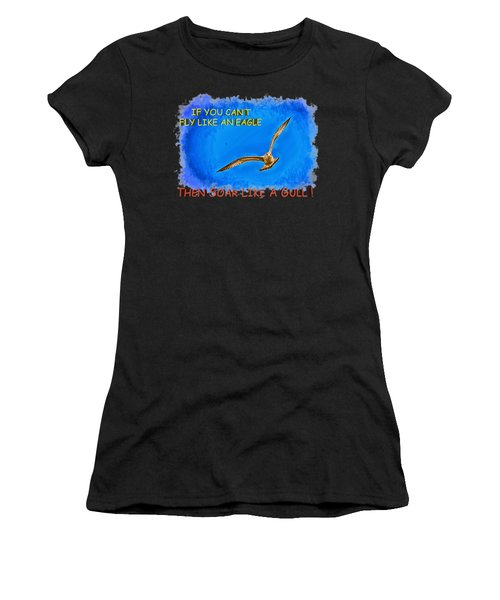 Flying Gull Women's T-Shirt (Athletic Fit)