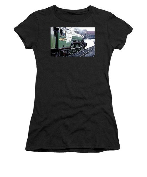 Flying Scotsman Locomotive Women's T-Shirt