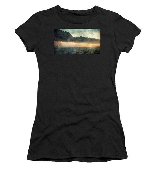 Fog On Garda Lake Women's T-Shirt