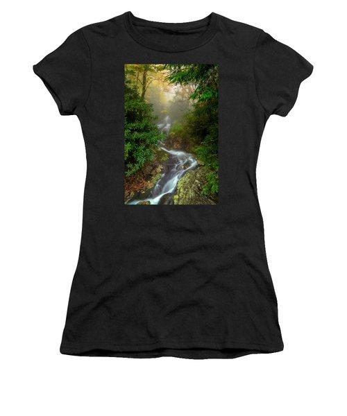 Foggy Autumn Cascades Women's T-Shirt