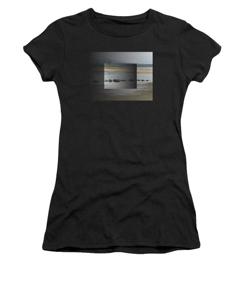 Women's T-Shirt featuring the painting Foggy Day by Ivana