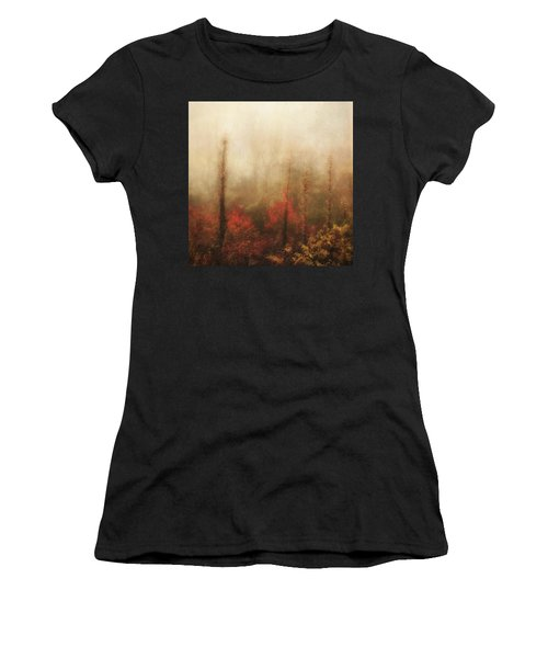 Foggy Fall On The Parkway Women's T-Shirt (Athletic Fit)