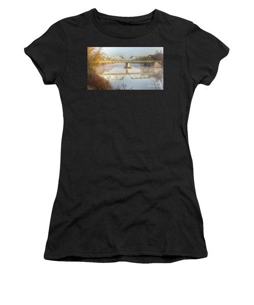 Foggy Mornin' Bridge Women's T-Shirt