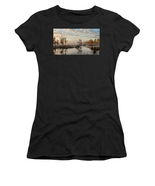 Foggy Morning In The Pines Women's T-Shirt