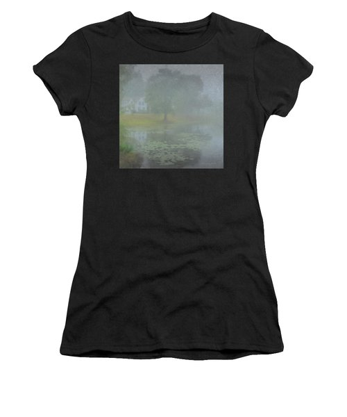 Foggy Morning On Pond Street Women's T-Shirt