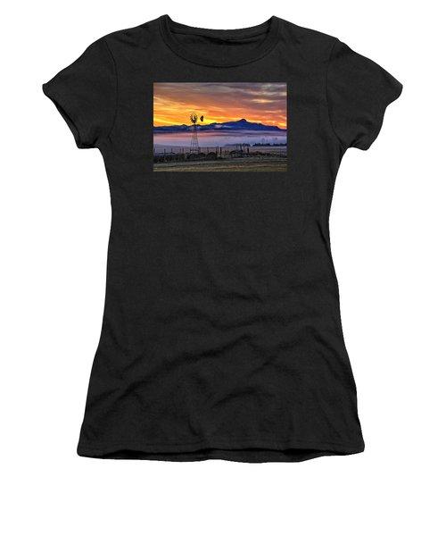 Foggy Spearfish Sunrise Women's T-Shirt