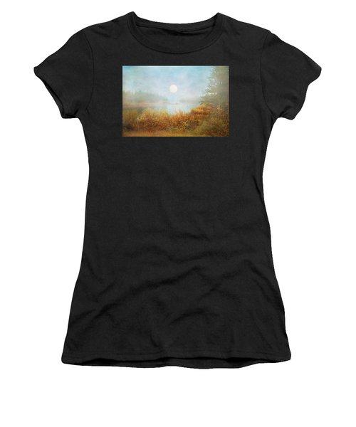 Foggy Sunrise  Women's T-Shirt (Athletic Fit)