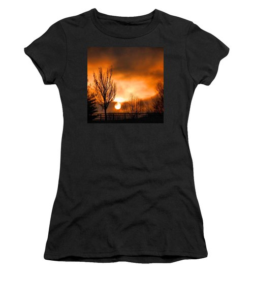 Foggy Sunrise Women's T-Shirt