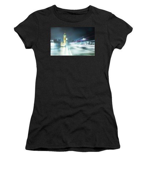 Foggy Westminster Bridge Women's T-Shirt
