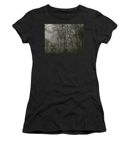 Foggy Woods Photo  Women's T-Shirt