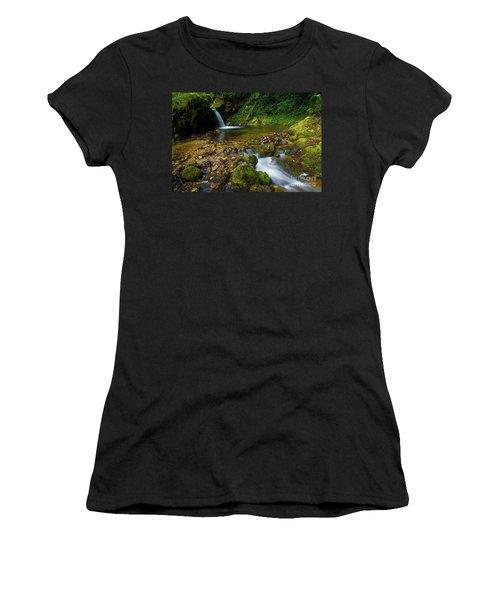 Women's T-Shirt (Junior Cut) featuring the photograph Follow It by Yuri Santin