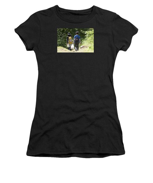Follow Me 3 Women's T-Shirt (Athletic Fit)