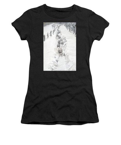 Follow The Flock Women's T-Shirt