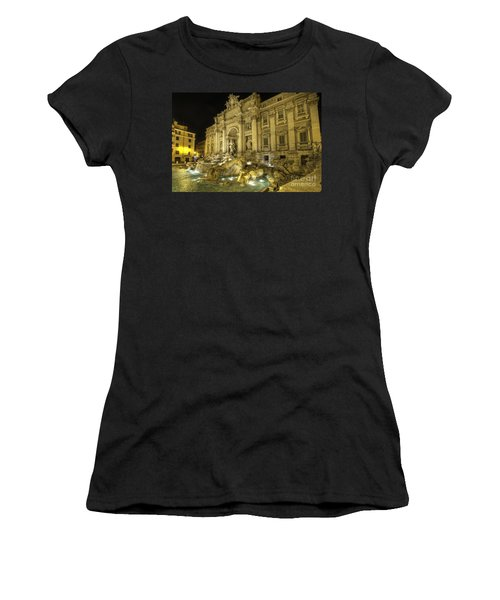 Fontana Di Trevi 1.0 Women's T-Shirt (Athletic Fit)