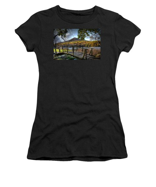 Foot Bridge Women's T-Shirt (Athletic Fit)