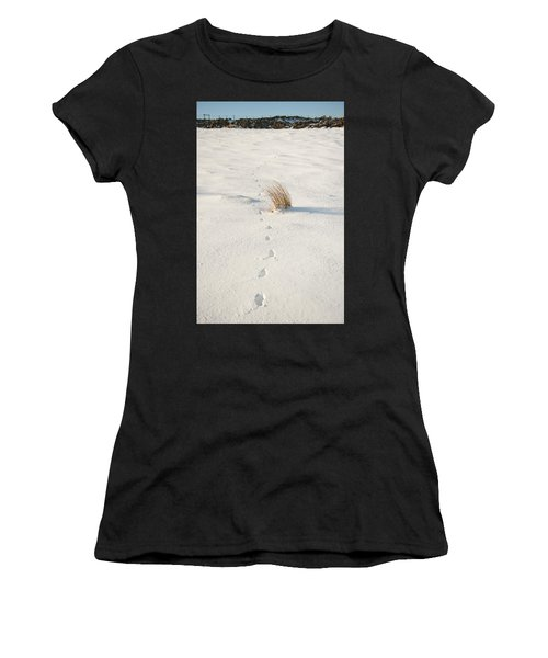 Footprints In The Snow II Women's T-Shirt