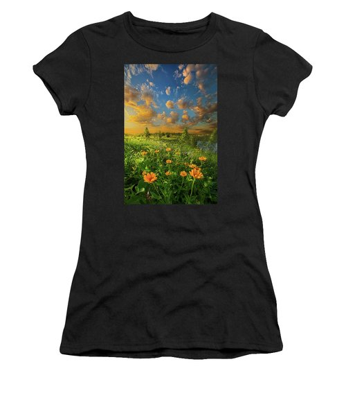 For A Moment All The World Was Right Women's T-Shirt