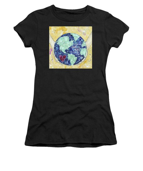 For He So Loved The World Women's T-Shirt (Athletic Fit)