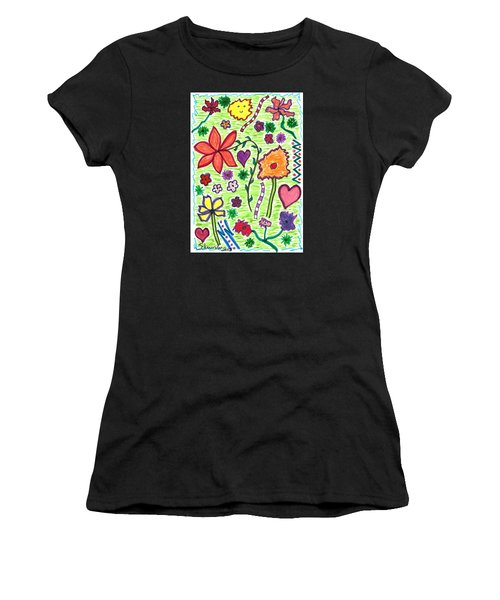 For The Love Of Flowers Women's T-Shirt