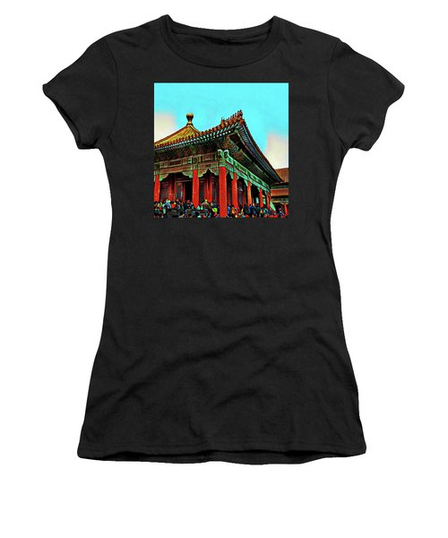 Forbidden City - Beijing China Women's T-Shirt