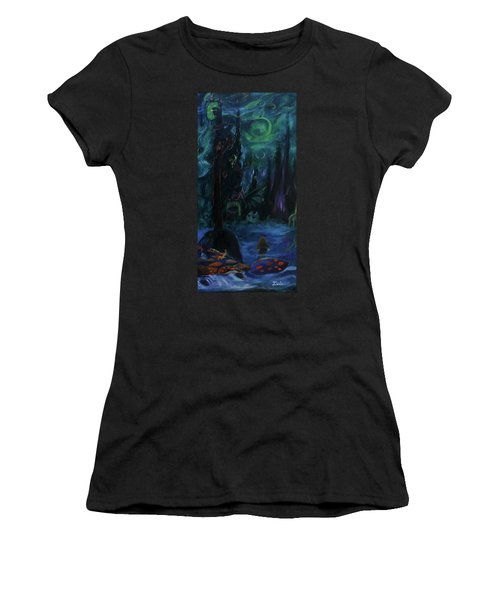 Forbidden Forest Women's T-Shirt (Athletic Fit)