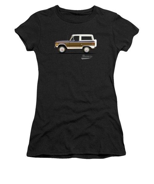 Ford Bronco Ranger 1976 Women's T-Shirt