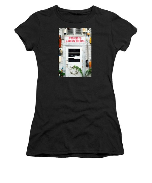 Fords Lobster Women's T-Shirt (Athletic Fit)