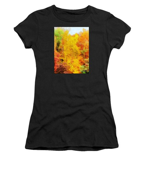 Forest Fire Women's T-Shirt (Athletic Fit)