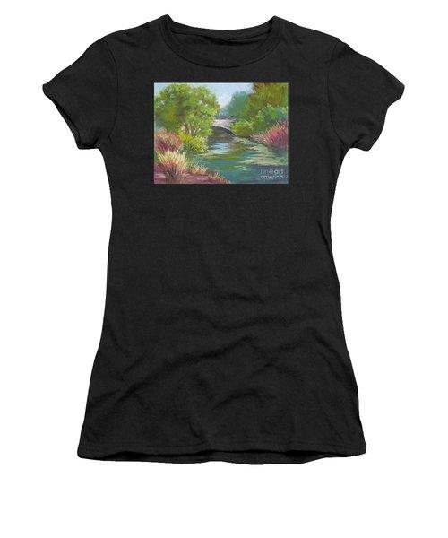 Forest Park Bridge Women's T-Shirt (Athletic Fit)