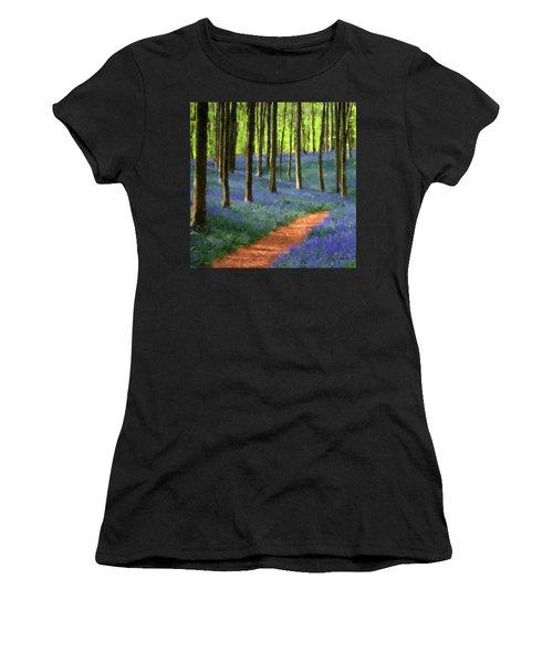 Forest Path Women's T-Shirt (Junior Cut)